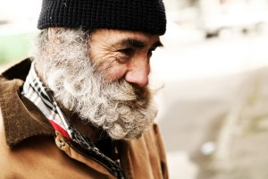 Senior Homeless Man
